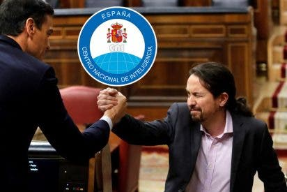 Pedro Sánchez y Pablo Iglesias, de cabeza a los juzgados por 'juguetear' con el CNI
