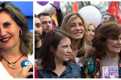Las seis razones de López Schlichting para romper en mil pedazos la marcha feminazi del 8-M
