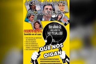 Cacerolada popular contra el petulante Iglesias y el irresponsable Sánchez