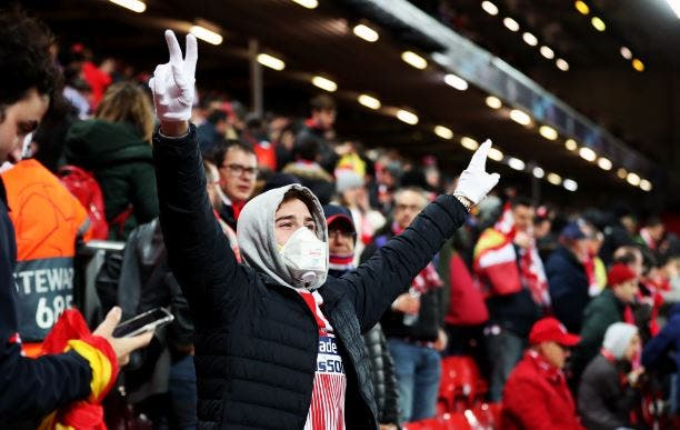 Liverpool se 'contagia' de coronavirus y culpa al Atlético de extender el virus