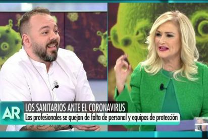 Cifuentes desquicia a Antonio Maestre por dejar en evidencia sus mentiras sobre el coronavirus en Madrid