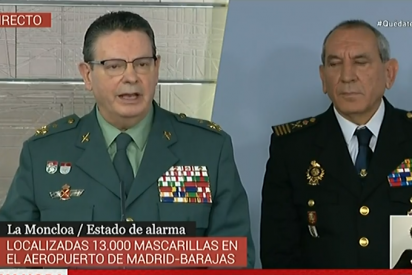 La Guardia Civil buscaba depósitos ilegales de mascarillas y encontró más de 100 armas y lanzagranadas