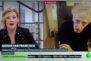 El Quilombo / Quique San Francisco le borra la risa tonta a Cristina Pardo: