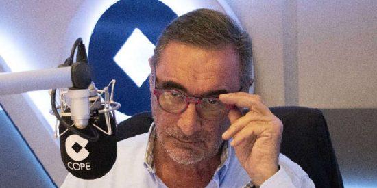 EGM / El 'marcaje' al Gobierno socialcomunista de Sánchez-Iglesias dispara los oyentes de Carlos Herrera