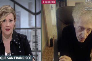 Quique San Francisco 'plancha' a Cristina Pardo en LaSexta: