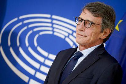 El presidente del Parlamento Europeo, en cuarentena: el italiano David Sassoli no saldrá de su casa en Bruselas
