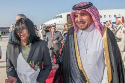 Esto fue lo que negoció Delcy Rodríguez con Qatar tras el polémico 'Delcygate'