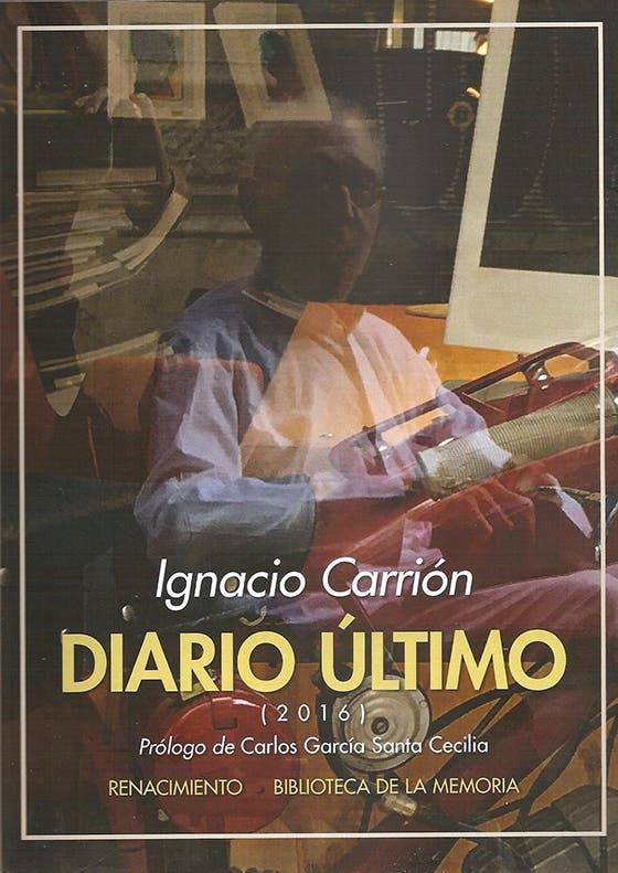 'Diario último', de Ignacio Carrión