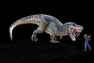 Coronavirus: la Policía pilla a un tipo disfrazado de dinosaurio para saltarse el confinamiento