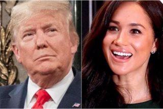 Donald Trump sacude a Meghan Markle y al príncipe Harry con un tremebundo aviso: