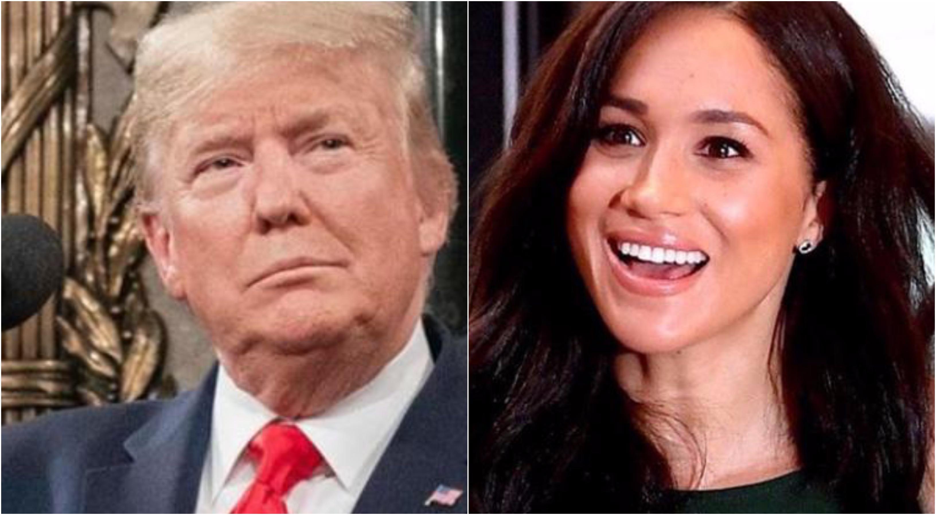"""Donald Trump sacude a Meghan Markle y al príncipe Harry con un tremebundo aviso: """"¡Deben pagar!"""""""