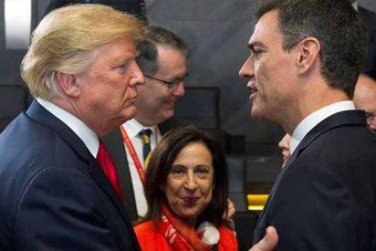 Trump 'castiga' a Sánchez por sus bobadas y deja a Navantia sin el contrato de una veintena de fragatas
