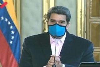 El dictador Maduro manda una lacrimógena al pueblo de EEUU suplicando