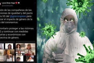 Las diputadas de PSOE y Podemos se reunen para analizar la 'perspectiva de género' del coronavirus, con 2.182 muertos en España
