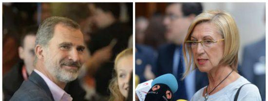 El premonitorio tuit de Rosa Díez sobre Felipe VI que ha acabado por hacerse real