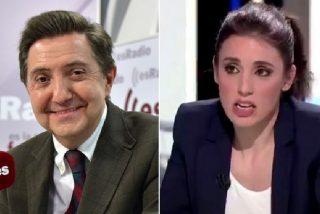 La Audiencia tumba la sentencia de un juez podemita que condenó a 3.000 euros a Jiménez Losantos por cachondearse de Irene Montero