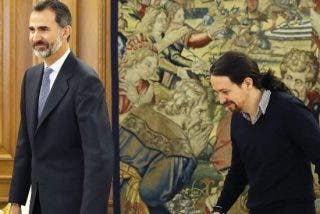 Miedo en Podemos: El Rey Felipe VI se verá cara a cara con Iglesias en un acto militar íntimo