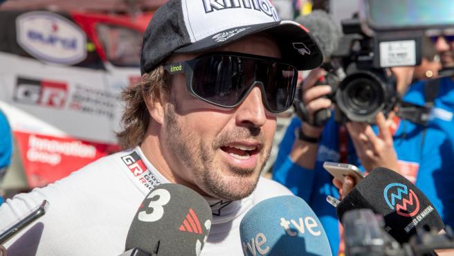 El español Fernando Alonso vuelve a la Fórmula 1 como piloto de Renault