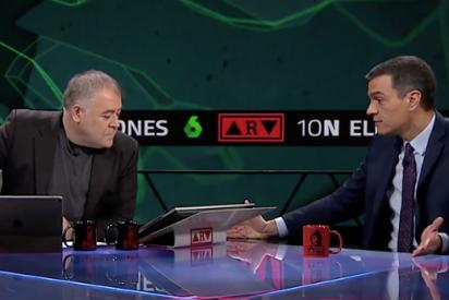 Ferreras y laSexta manipulan información sensible en plena crisis del coronavirus para favorecer a Sánchez
