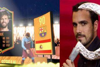 La nueva payasada de Garzón y del ala más comunista del gobierno de Sánchez: regular los cromos de FIFA