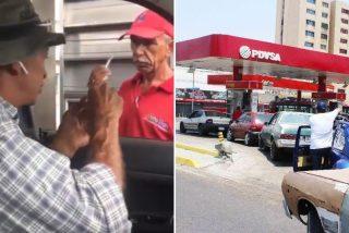 La dura realidad de la Venezuela chavista: echa gasolina y paga con un cigarro y un caramelo