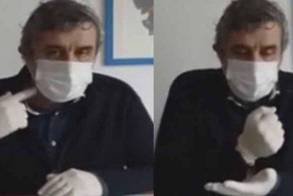 """El lenguaje de """"gestos antivirus"""" para evitar la propagación del COVID-19 y ayudar al personal médico"""
