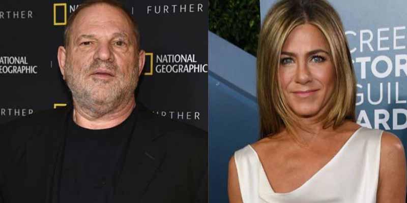 """""""Jennifer Aniston debería ser asesinada"""": la frase del depredador Harvey Weinstein retomada en su juicio"""