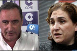 Carlos Herrera le pega un cacerolazo a Ada Colau por alentar un nuevo boicot a Felipe VI