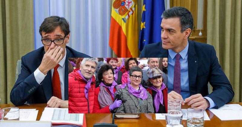 Pedro Sánchez ocultó que el Gobierno socialcomunista sabía 3 horas antes de la marcha del 8M que el coronavirus estaba desbocado