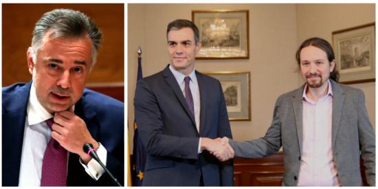 Jenaro Castro (RTVE) retrata a Pedro Sánchez y Pablo Iglesias por querer inocular en España el coronavirus de la autocracia mediática