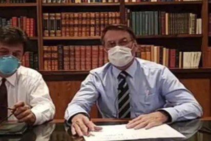 """Jair Bolsonaro comparte su negativo del coronavirus y envía un fuerte mensaje a los medios: """"No creas en sus fake news"""""""