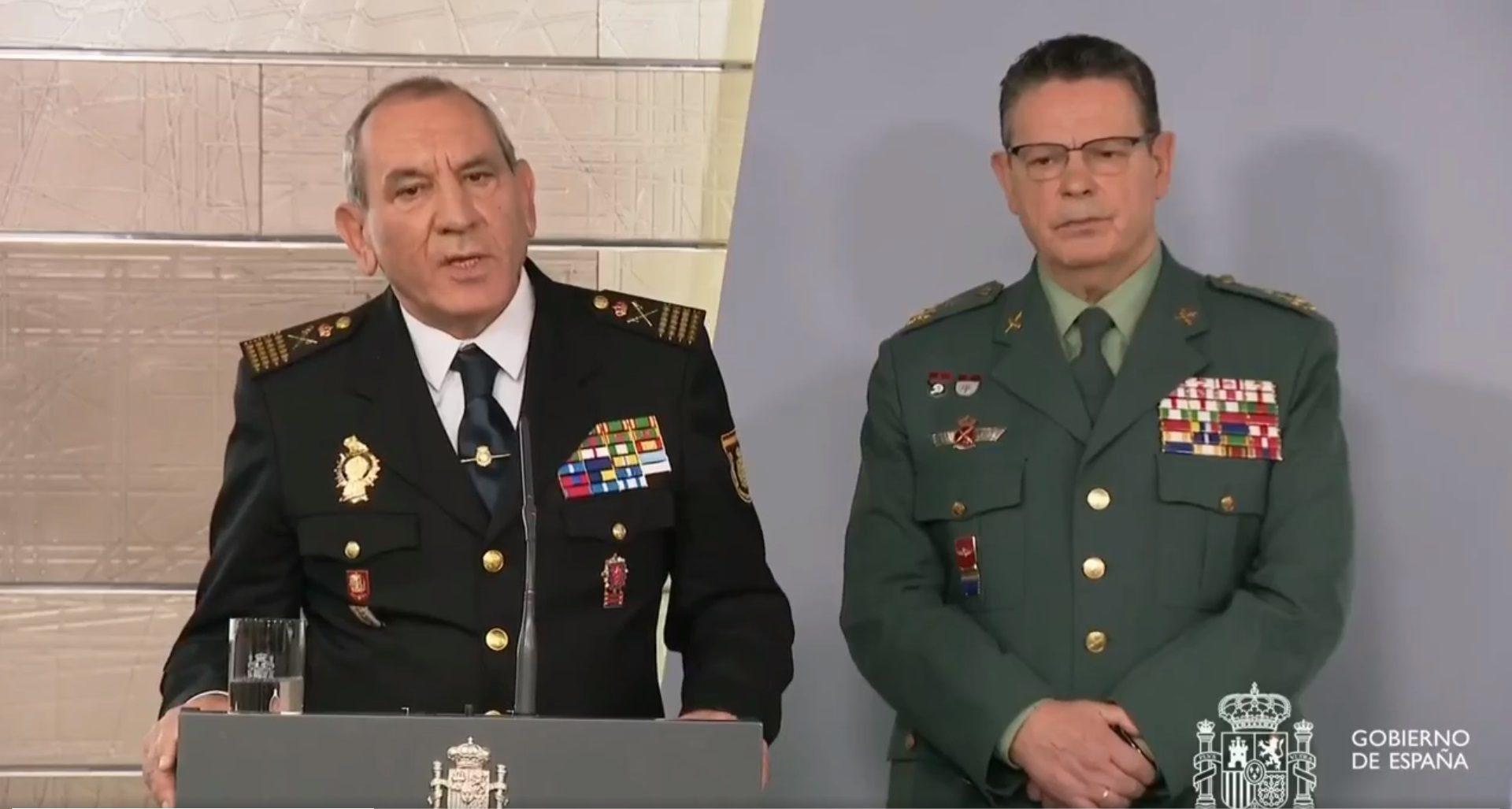Policía Nacional y Guardia Civil desbordados: más de 50.000 denuncias a 'listillos' que evitan el confinamiento del coronavirus