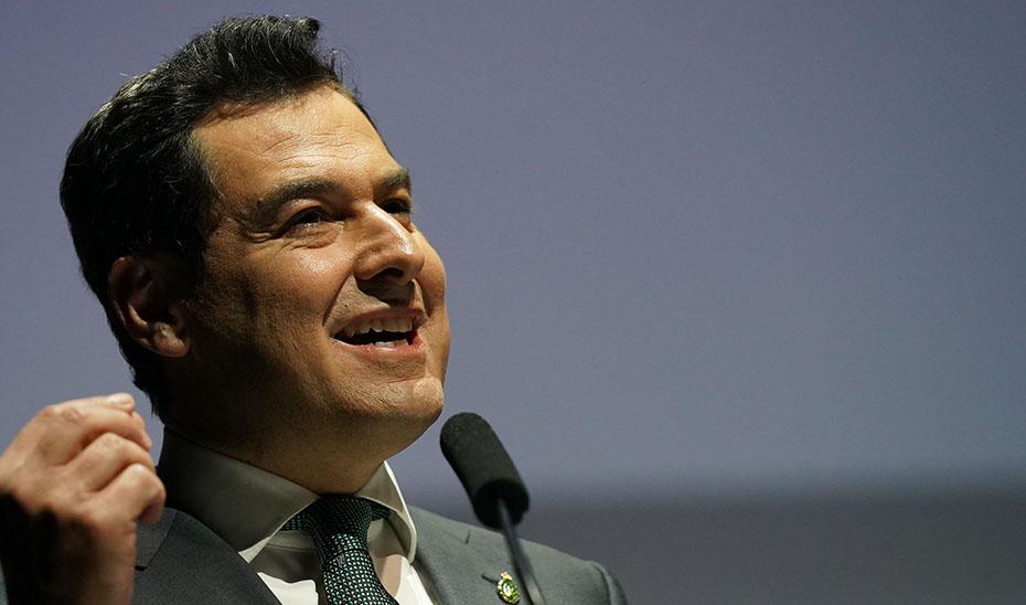 Juanma Moreno señala que Andalucía está en condiciones de afrontar un desconfinamiento gradual por zonas