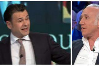 Iñaki López amordaza a Eduardo Inda para que no siga despedazando a Pablo Iglesias