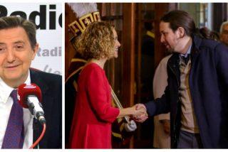 Losantos denuncia el guerracivilismo de PSOE y Podemos cerrrando el Congreso para evitar una moción de censura