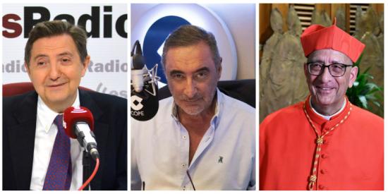 """Losantos no comulga con Omella: """"Ya le he dado el pésame a Carlos Herrera"""""""