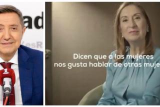 Losantos despedaza el vídeo de los panolis del PP sobre el 8-M: