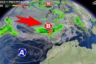 Llega borrasca 'Jorge': vuelven a España la lluvia, el frío y los fuertes vientos