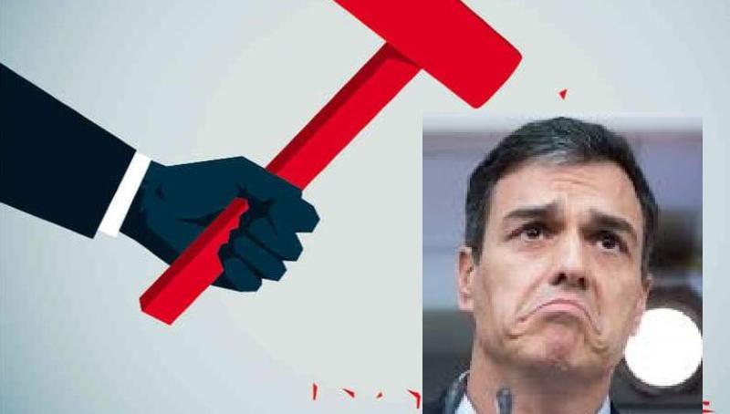 El mal, la enfermedad que corroe España, está en las tripas del PSOE