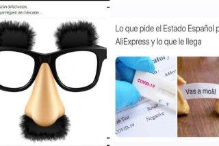 Carta a Pedro Sánchez y a los ministros inútiles que compran 'test rapidos' chungos en los chinos de todo a 100
