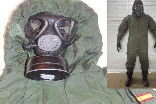 Coronavirus: guardias civiles en traje antinuclear notifican el aislamiento a los vecinos de Haro y el Gobierno amenaza con multa de 600.000 € a quien se lo salte
