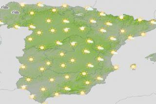 Meteorología: pronóstico del tiempo en toda España donde suben el coronavirus y el termómetro