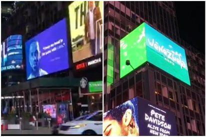 Corrupción chavista: sin dinero para la crisis humanitaria, pero con publicidad en el Times Square