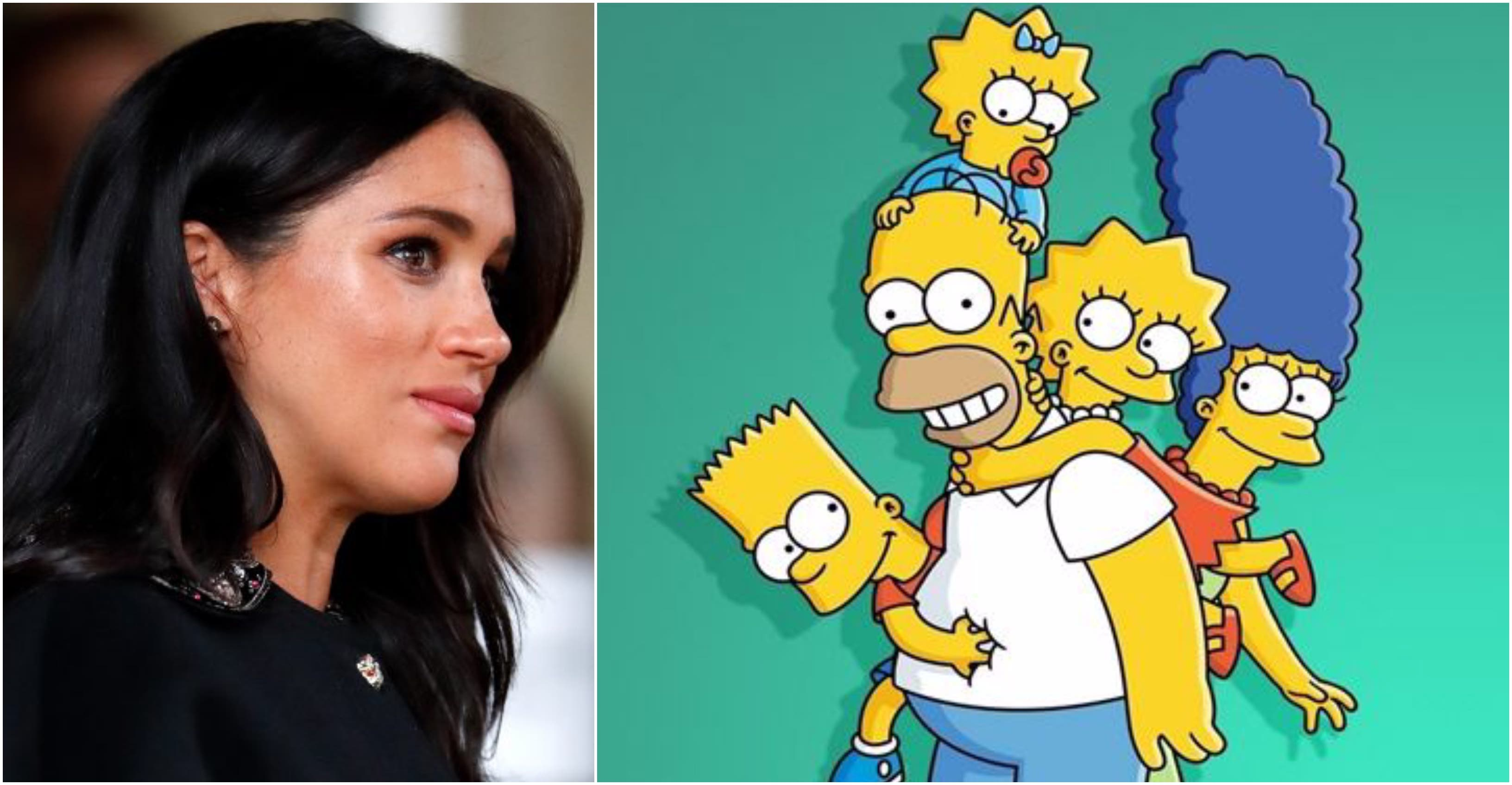 Meghan Markle, de Buckingham Palace a personaje en 'Los Simpson': la oferta de trabajo más suculenta