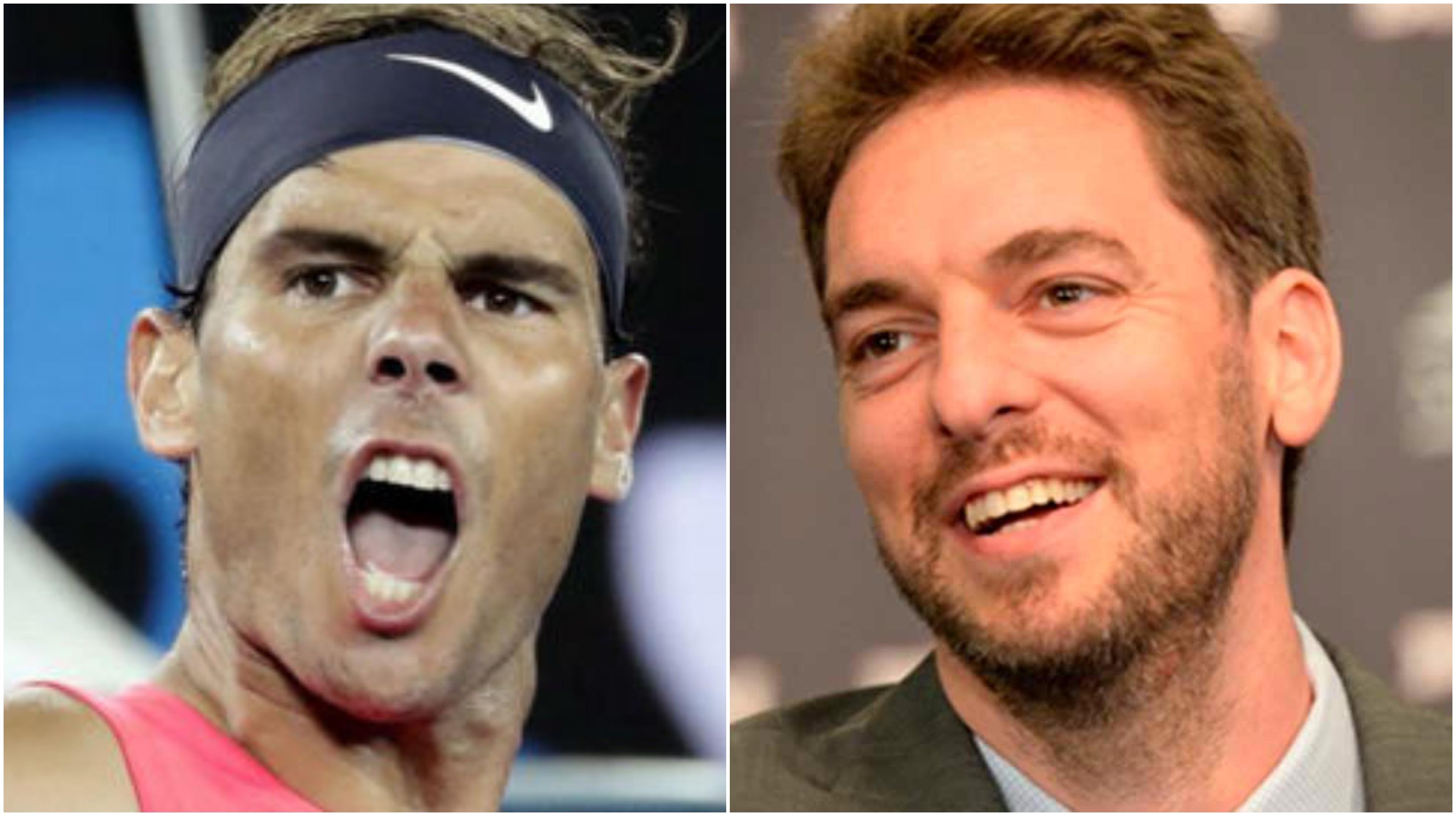 Nadal y Gasol lanzan un contundente mensaje a los deportistas españoles y rompen la hucha