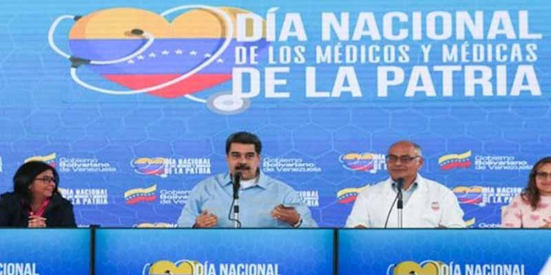 Las locuras del dictador Nicolás Maduro con el coronavirus: saludo con la frente y un antídoto cubano