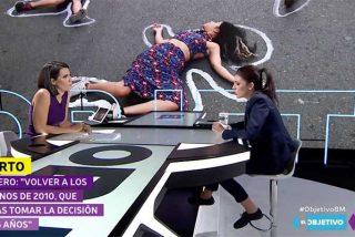 Ana Pastor se salta la cuarentena obligatoria tras entrevistar a la infectada Irene Montero el 8M