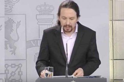 Pablo Iglesias se salta otra vez la cuarentena para no contar nada en rueda de prensa