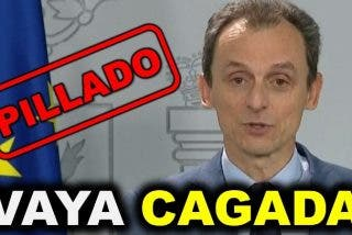 Moncloa arde: el ministro Duque señala penalmente a Sánchez e Iglesias en dos minutos increíbles
