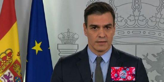 Pedro Sánchez decreta el cierre total de España, a los 20 días exactos del gran contagio del 8-M